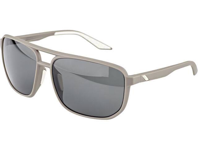 100% Konnor Aviator Square Gafas, gris